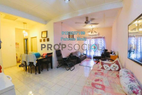 For Sale Apartment at Seroja Apartment, Bukit Jelutong Freehold Semi Furnished 3R/2B 285k