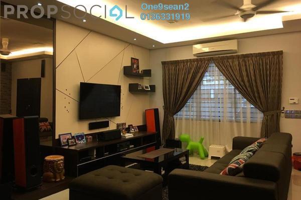 For Sale Terrace at Setia Indah, Setia Alam Freehold Semi Furnished 4R/3B 899k