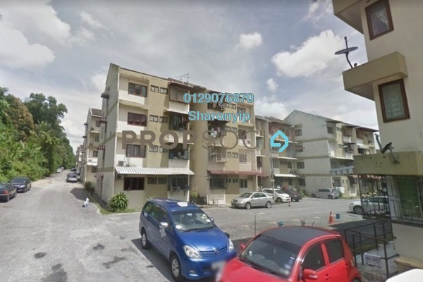For Sale Apartment at Taman Megah, Cheras South Freehold Semi Furnished 3R/2B 218k