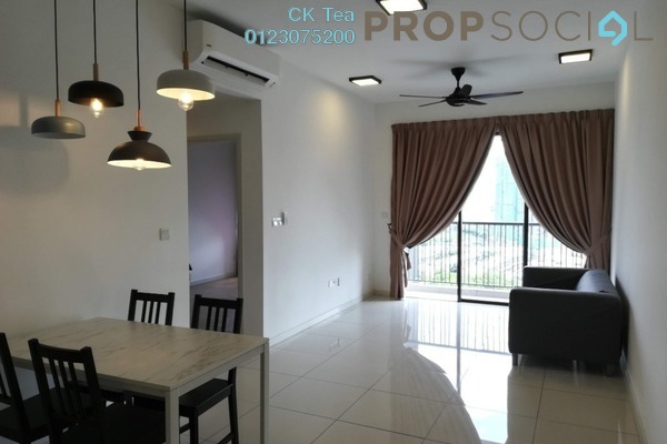 For Rent Condominium at Casa Green, Bukit Jalil Freehold Semi Furnished 3R/3B 1.7k