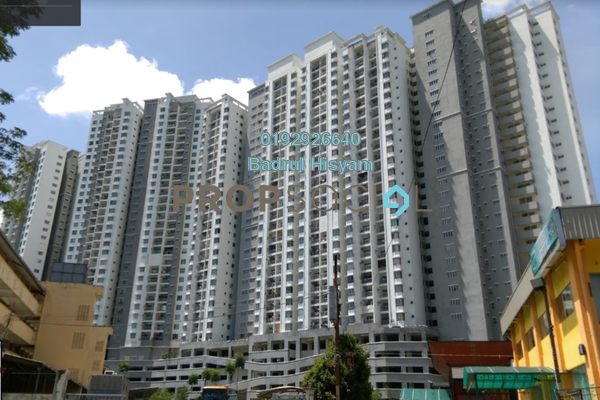 For Sale Condominium at Symphony Heights, Selayang Freehold Fully Furnished 3R/2B 375k