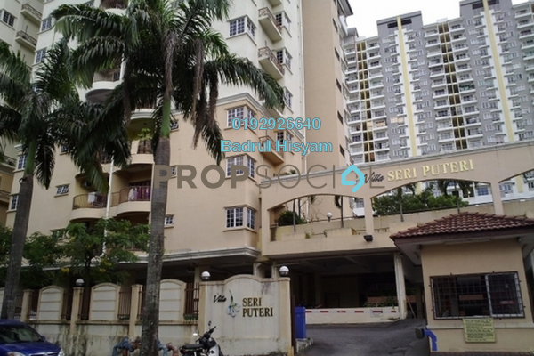 For Sale Condominium at Villa Seri Puteri, Cheras Freehold Fully Furnished 3R/2B 570k