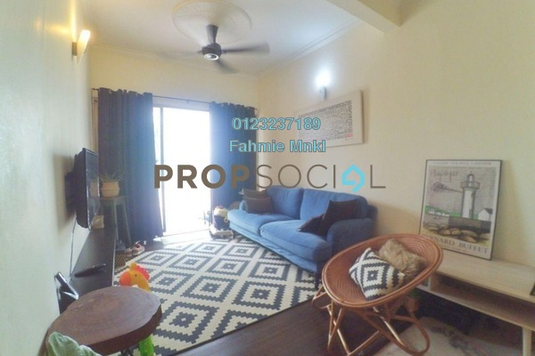 For Sale Condominium at Sri Kinabalu, Wangsa Maju Leasehold Semi Furnished 4R/2B 425k