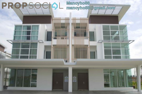 For Rent Semi-Detached at Garden Residence, Cyberjaya Freehold Semi Furnished 6R/5B 3.5k