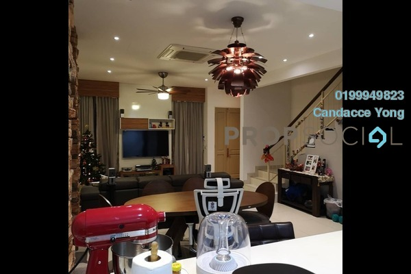 For Sale Terrace at Setia Indah, Setia Alam Freehold Fully Furnished 4R/3B 848k