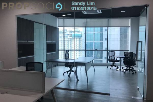 For Rent Office at The Vertical, Bangsar South Freehold Fully Furnished 0R/0B 6k