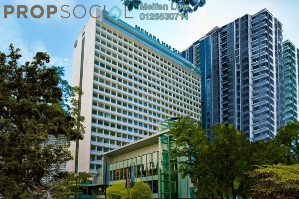 For Rent Office at Menara Hap Seng, KLCC Freehold Unfurnished 0R/0B 65k