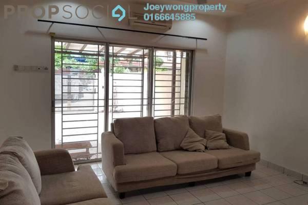 For Sale Terrace at PU2, Bandar Puchong Utama Freehold Semi Furnished 4R/3B 759k