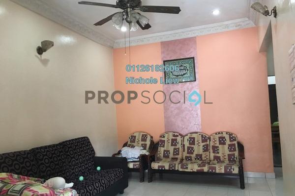 For Sale Terrace at Taman Teluk Pulai, Klang Freehold Semi Furnished 4R/2B 370k
