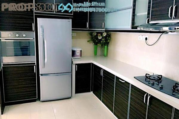 For Rent Condominium at Sea View Tower, Butterworth Freehold Semi Furnished 4R/2B 1.2k