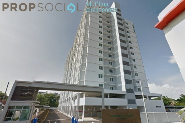 For Rent Condominium at Capri Park, Butterworth Freehold Unfurnished 4R/3B 1.2k