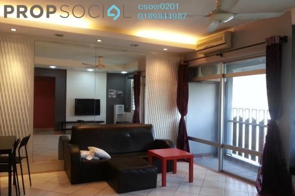 For Rent Condominium at Perdana Exclusive, Damansara Perdana Freehold Fully Furnished 2R/2B 1.6k