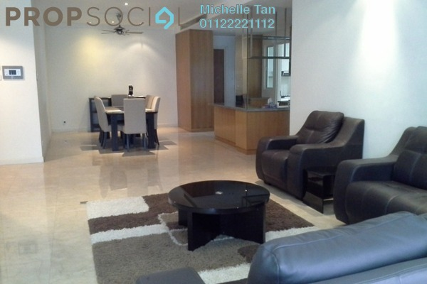 For Rent Condominium at Binjai Residency, KLCC Freehold Fully Furnished 3R/5B 7k