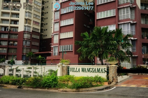 For Sale Condominium at Villa Wangsamas, Wangsa Maju Freehold Semi Furnished 3R/3B 486k