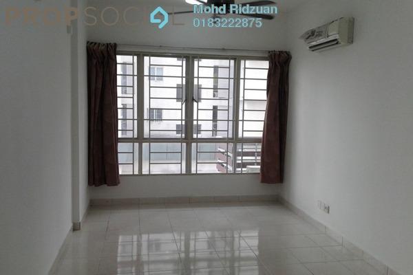 For Rent Serviced Residence at e-Tiara, Subang Jaya Freehold Semi Furnished 2R/2B 1.5k