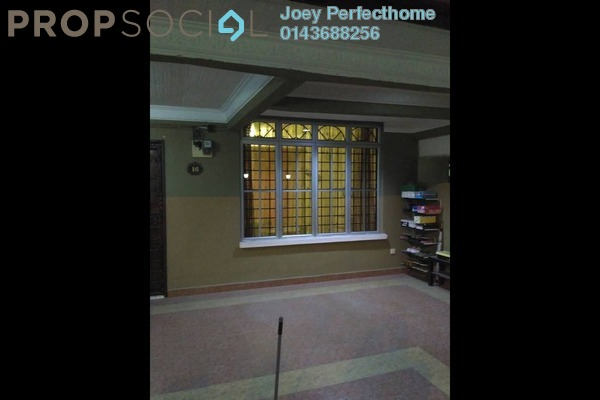 For Sale Terrace at Section 2, Bandar Mahkota Cheras Freehold Semi Furnished 4R/3B 628k