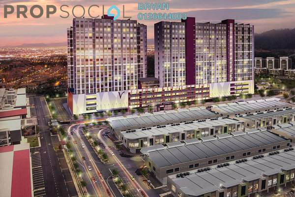 For Sale Apartment at Mahkota Valley, Bandar Indera Mahkota Leasehold Fully Furnished 2R/1B 249k