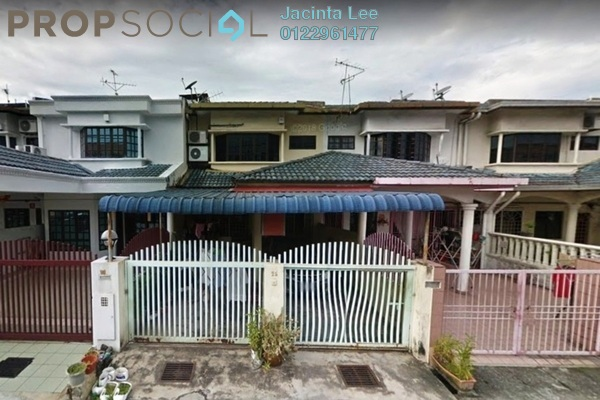 For Sale Terrace at Taman Bayu Perdana, Klang Freehold Semi Furnished 4R/3B 423k