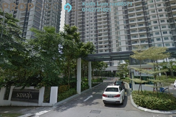 For Rent Condominium at Scenaria, Segambut Freehold Semi Furnished 4R/3B 1.7k