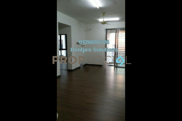 For Rent Condominium at Silk Sky, Balakong Freehold Semi Furnished 3R/2B 1.4k
