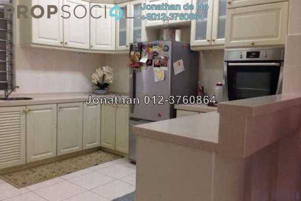For Sale Terrace at Lagoon Homes, Kota Kemuning Freehold Semi Furnished 4R/4B 850k