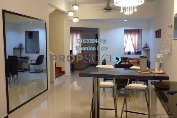 For Sale Terrace at Taman Wawasan, Pusat Bandar Puchong Freehold Semi Furnished 4R/3B 920k
