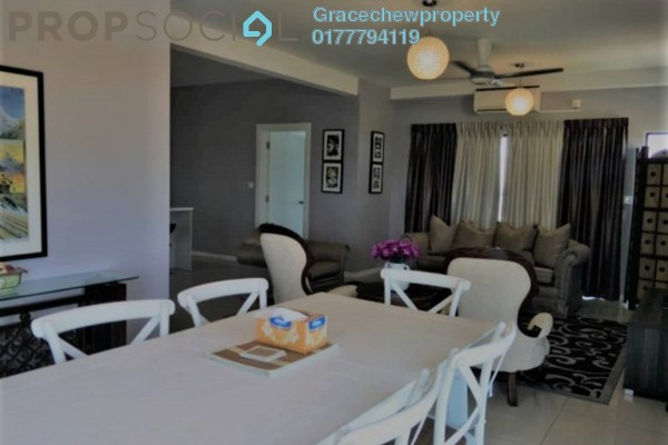 For Rent Apartment at Ujana Executive Apartments, Iskandar Puteri (Nusajaya) Freehold Fully Furnished 3R/2B 2.7k