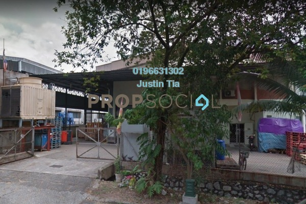 For Rent Factory at Section 16, Shah Alam Freehold Semi Furnished 0R/0B 18k