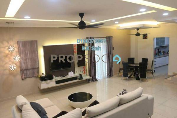 For Sale Superlink at Taman Sri Putra Mas, Sungai Buloh Freehold Fully Furnished 4R/3B 870k