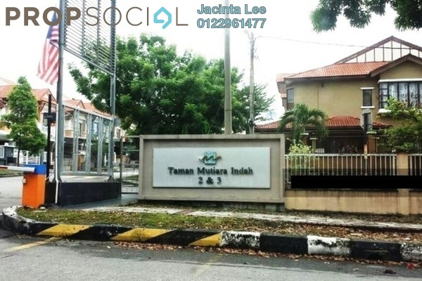 For Sale Terrace at Mutiara Indah, Puchong Leasehold Semi Furnished 4R/3B 474k
