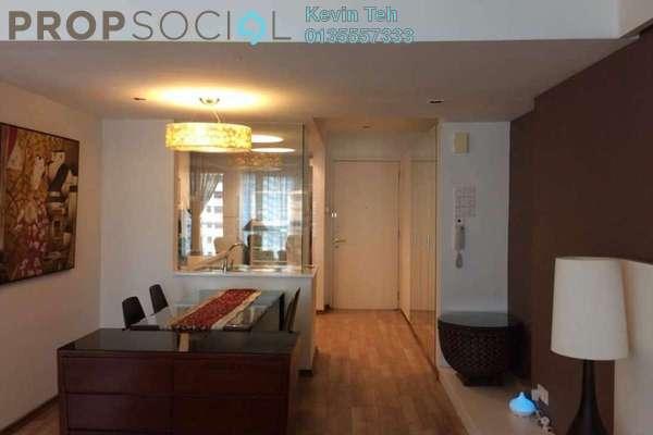 For Rent Condominium at i-Zen Kiara I, Mont Kiara Freehold Fully Furnished 3R/2B 3k