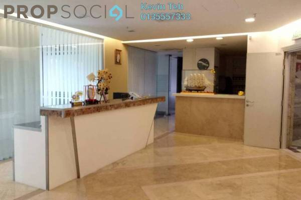 For Rent Office at Solaris Dutamas, Dutamas Freehold Fully Furnished 0R/0B 16k
