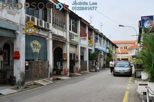 For Sale Terrace at Lorong Seck Chuan, Georgetown Freehold Unfurnished 2R/2B 900k