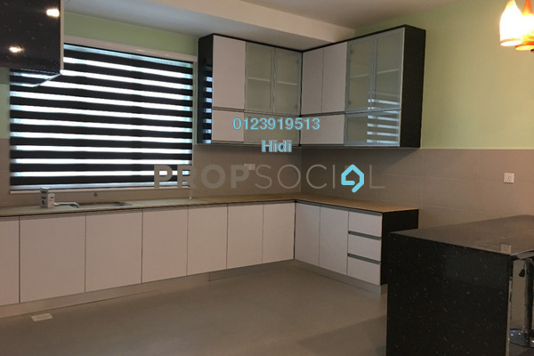 For Rent Condominium at X2 Residency, Puchong Freehold Fully Furnished 4R/4B 2.5k