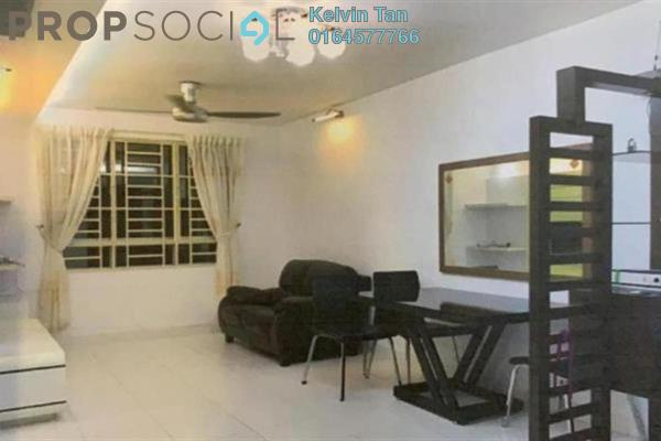 For Rent Apartment at Melody Homes, Farlim Freehold Fully Furnished 3R/2B 1.2k