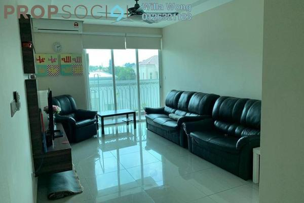 For Sale Condominium at Hijauan Saujana, Saujana Freehold Semi Furnished 3R/2B 750k