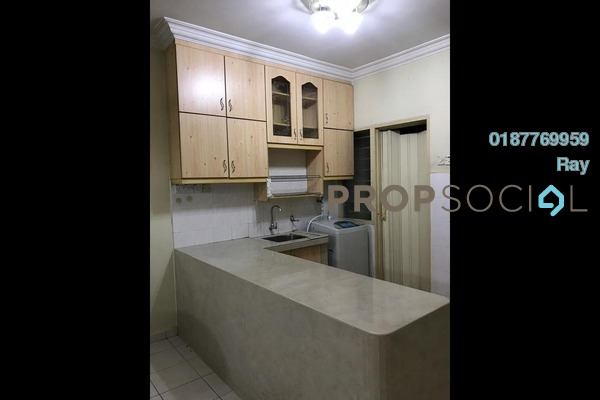 For Rent Apartment at Cemara Apartment, Bandar Sri Permaisuri Freehold Unfurnished 3R/2B 1.2k
