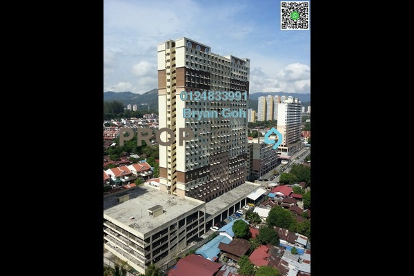 For Rent Apartment at Jelutong Park, Jelutong Freehold Semi Furnished 3R/1B 700translationmissing:en.pricing.unit