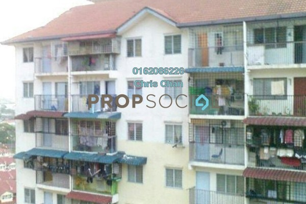 For Sale Apartment at Seri Nilam Apartment, Ampang Leasehold Unfurnished 3R/2B 125k