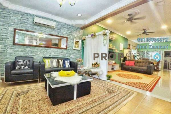 For Sale Terrace at Semenyih Parklands, Semenyih Freehold Semi Furnished 4R/3B 495k