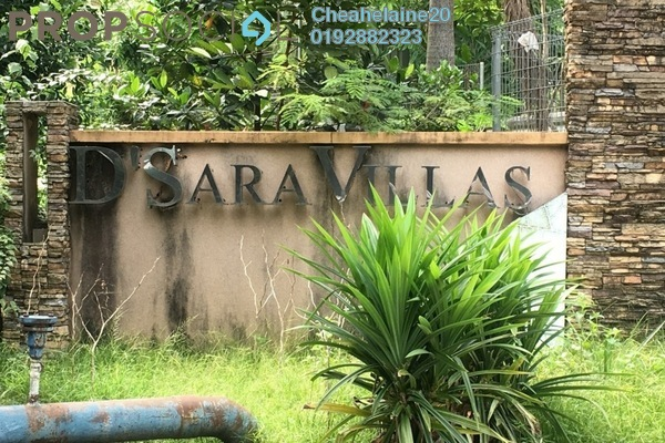 For Sale Land at D'sara Villas, Bandar Sri Damansara Freehold Unfurnished 1R/1B 1.2m