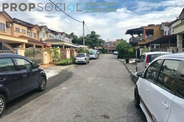 For Sale Terrace at Taman Jelok Indah, Kajang Freehold Semi Furnished 4R/3B 540k