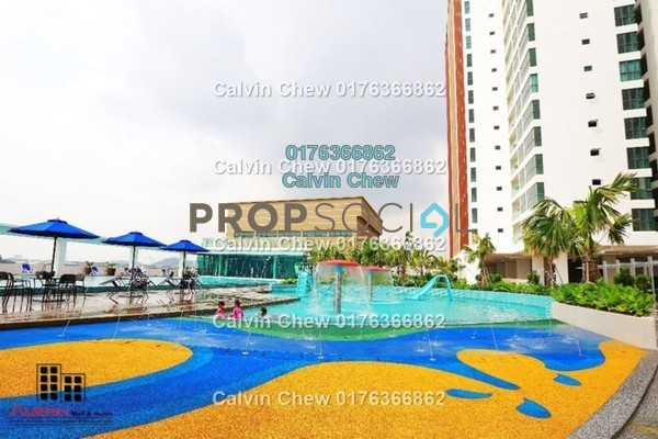 For Sale Serviced Residence at Amerin Mall & Residence, Balakong Freehold Unfurnished 3R/2B 361k