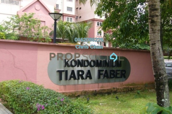 For Sale Condominium at Tiara Faber, Taman Desa Freehold Unfurnished 3R/2B 450k