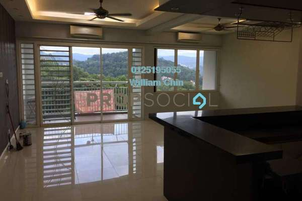 For Rent Condominium at 3 Residen, Melawati Freehold Semi Furnished 3R/2B 1.9k