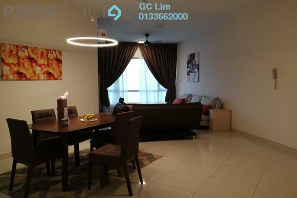 For Rent Condominium at The Crest, Kuala Lumpur Freehold Fully Furnished 3R/2B 4k