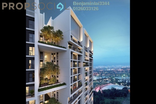 For Sale Condominium at The Westside Three, Desa ParkCity Freehold Unfurnished 3R/3B 1.65m