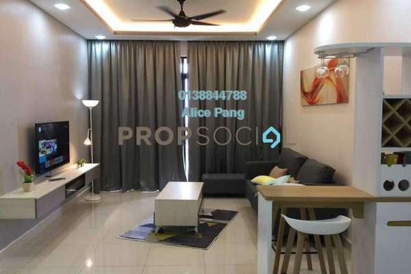 For Rent Condominium at Mont Residence, Tanjung Tokong Freehold Fully Furnished 3R/2B 3k