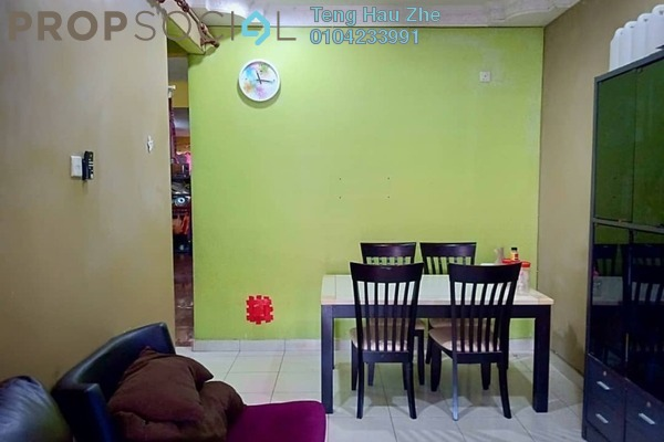 For Sale Terrace at Jade, Bandar Bukit Raja Freehold Semi Furnished 3R/2B 399k