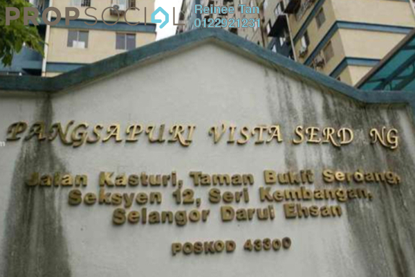 For Sale Apartment at Vista Serdang Apartment, Seri Kembangan Freehold Unfurnished 3R/2B 218k